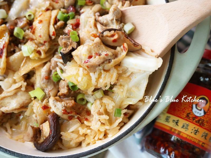 私房香菇雞菜飯 (鑄鐵鍋一鍋到底煮飯)