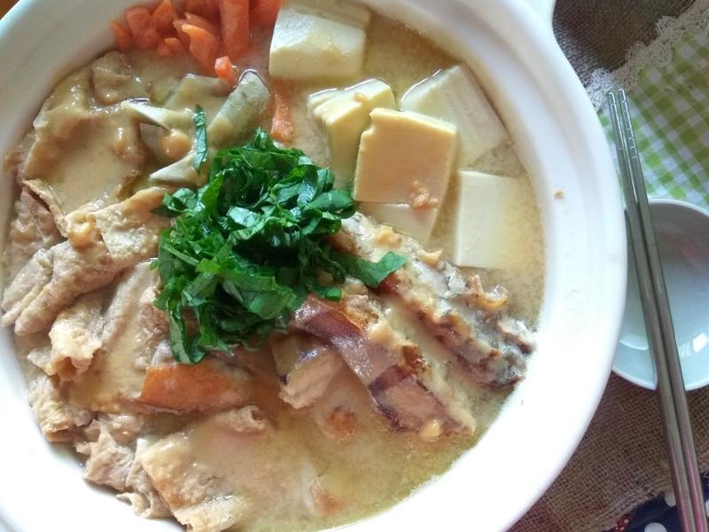 一鍋到位─草魚豆腐味噌鍋