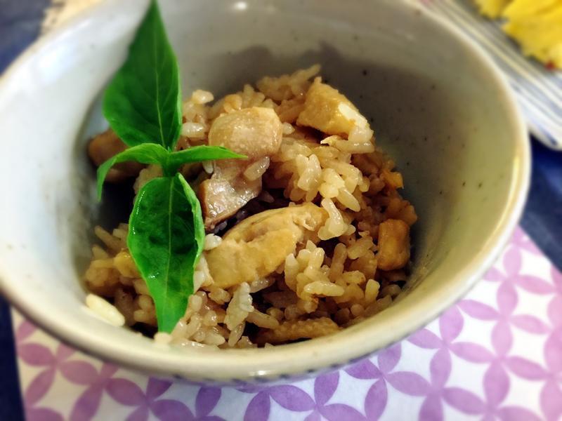 麻油雞炊飯