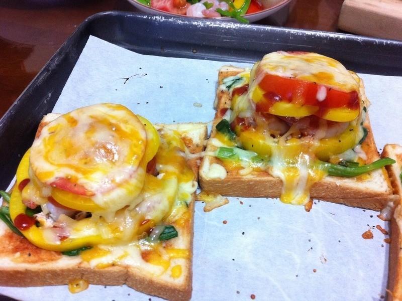 米奇廚房@綜合mini pizza