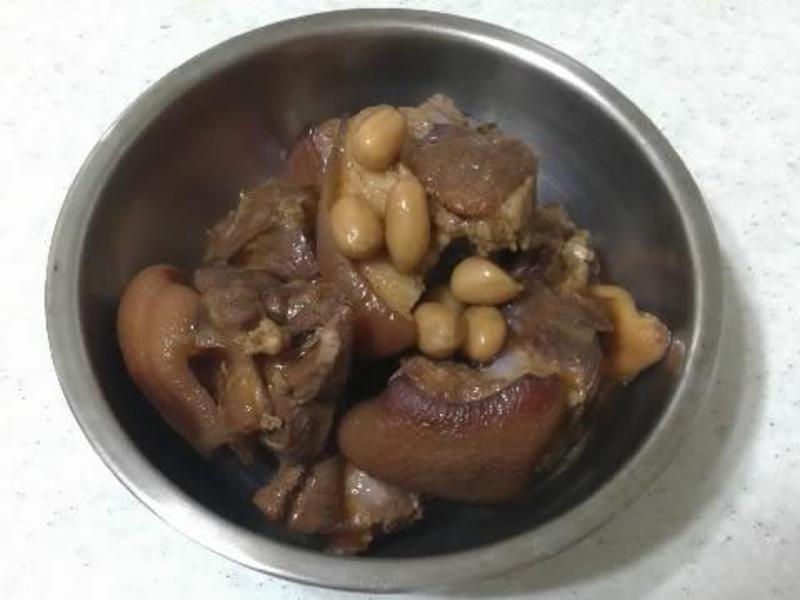 滷豬腳&簡單魯味
