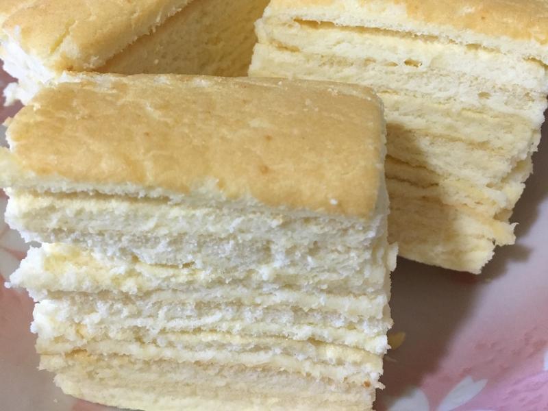 蜂蜜千層蛋糕(寶寶版)