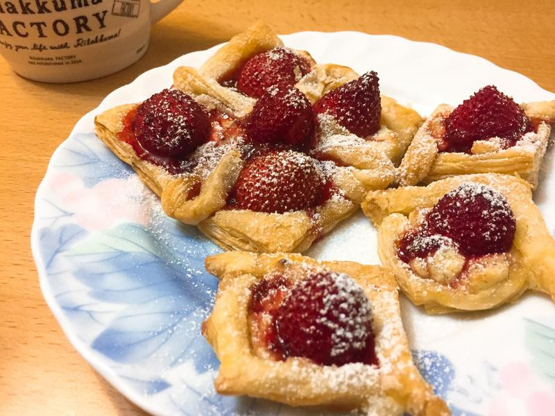 草莓起酥塔🍓 【三款造型】