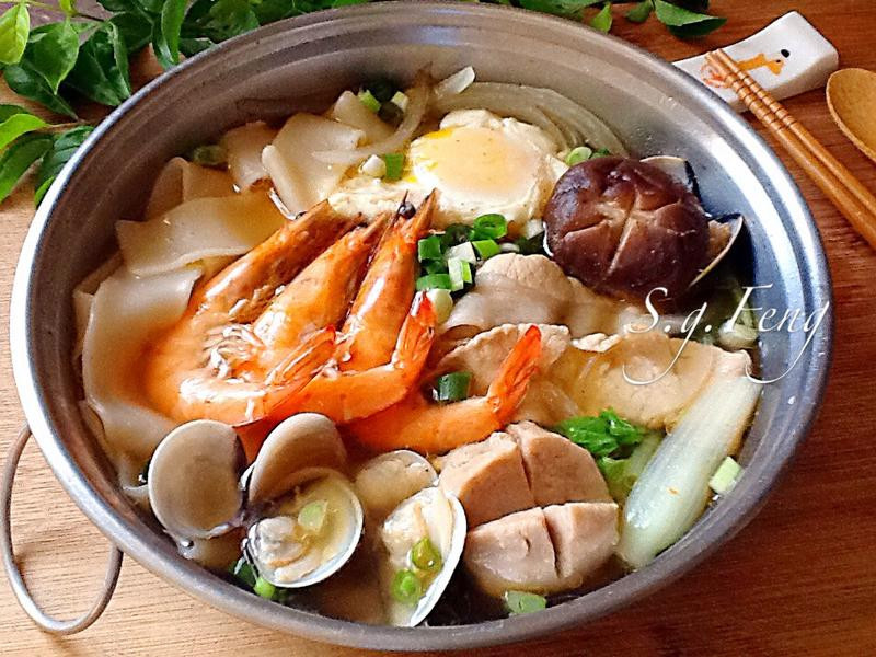 海陸鍋燒麵