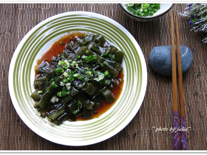 [川味涼拌昆布]天然海味鮮美的涼拌菜