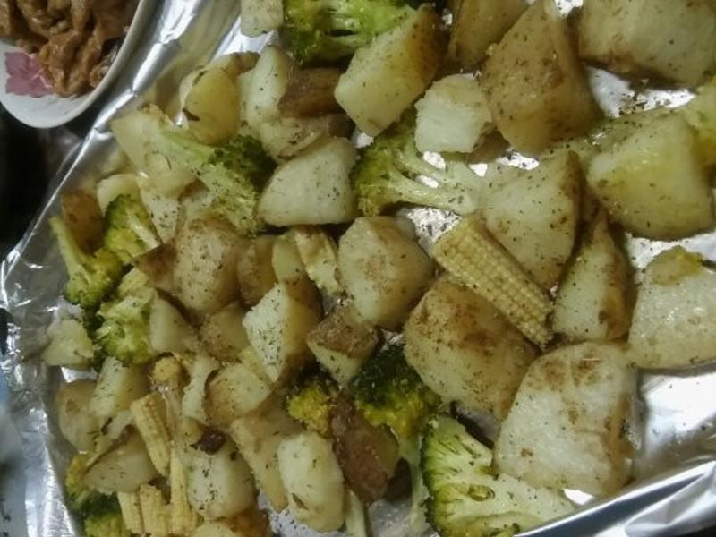 香草烤時蔬