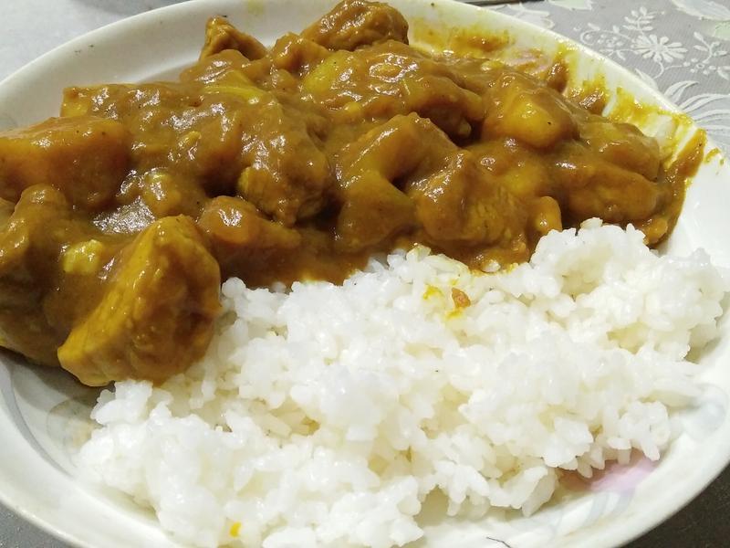 《Nil 小廚》特製咖哩飯(半咖哩塊)