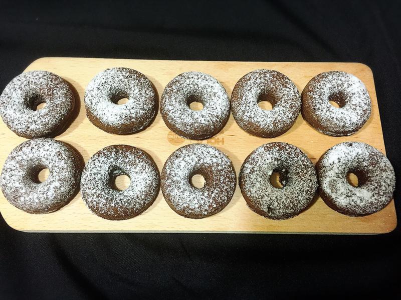 甜甜圈核桃布朗尼(超濕潤配方)