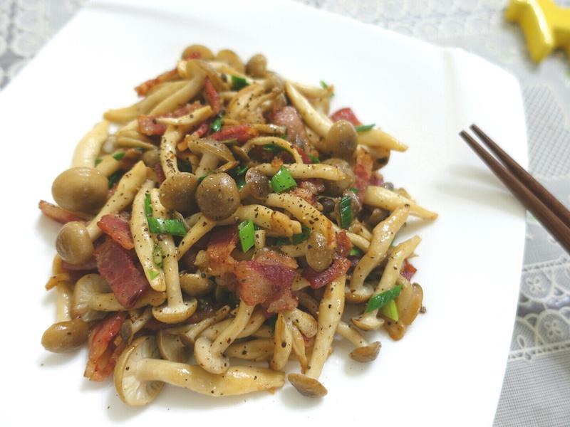 蒜香培根奶油菇