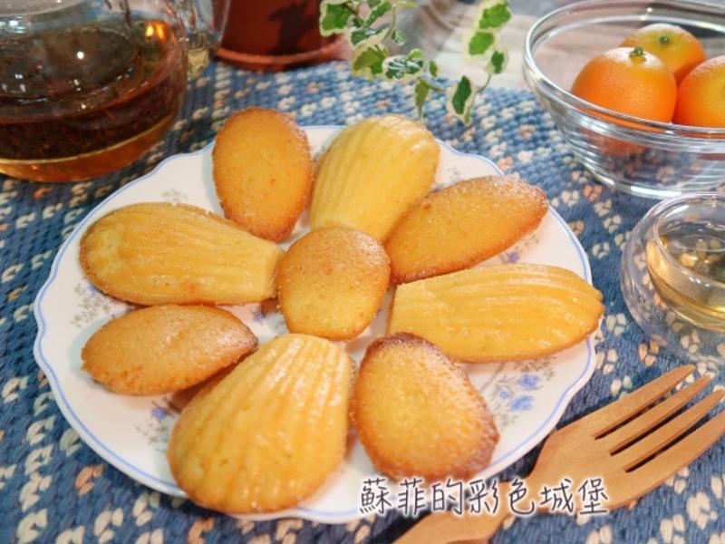 檸檬 vs.杏仁瑪德蓮貝殼蛋糕