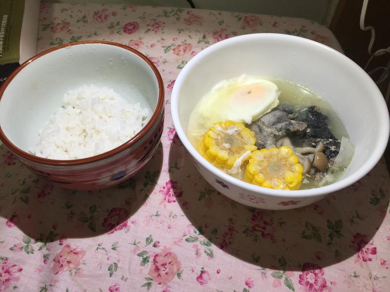 烏骨雞湯飯 #親子版#費太太的廚房