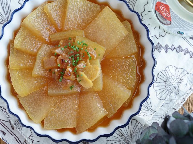 餐桌上的下飯菜.無肉也香.椰子油醬煨冬瓜