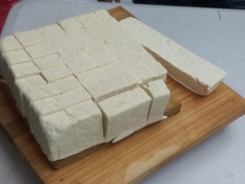 自製傳統板豆腐