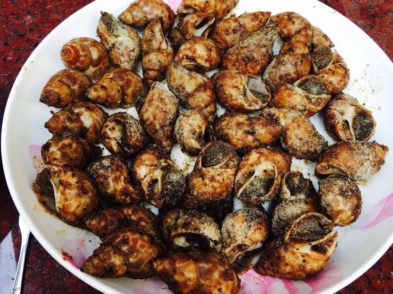 椒鹽鳳螺(超下酒)