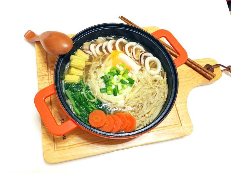 昆布海鮮蔬菜麵