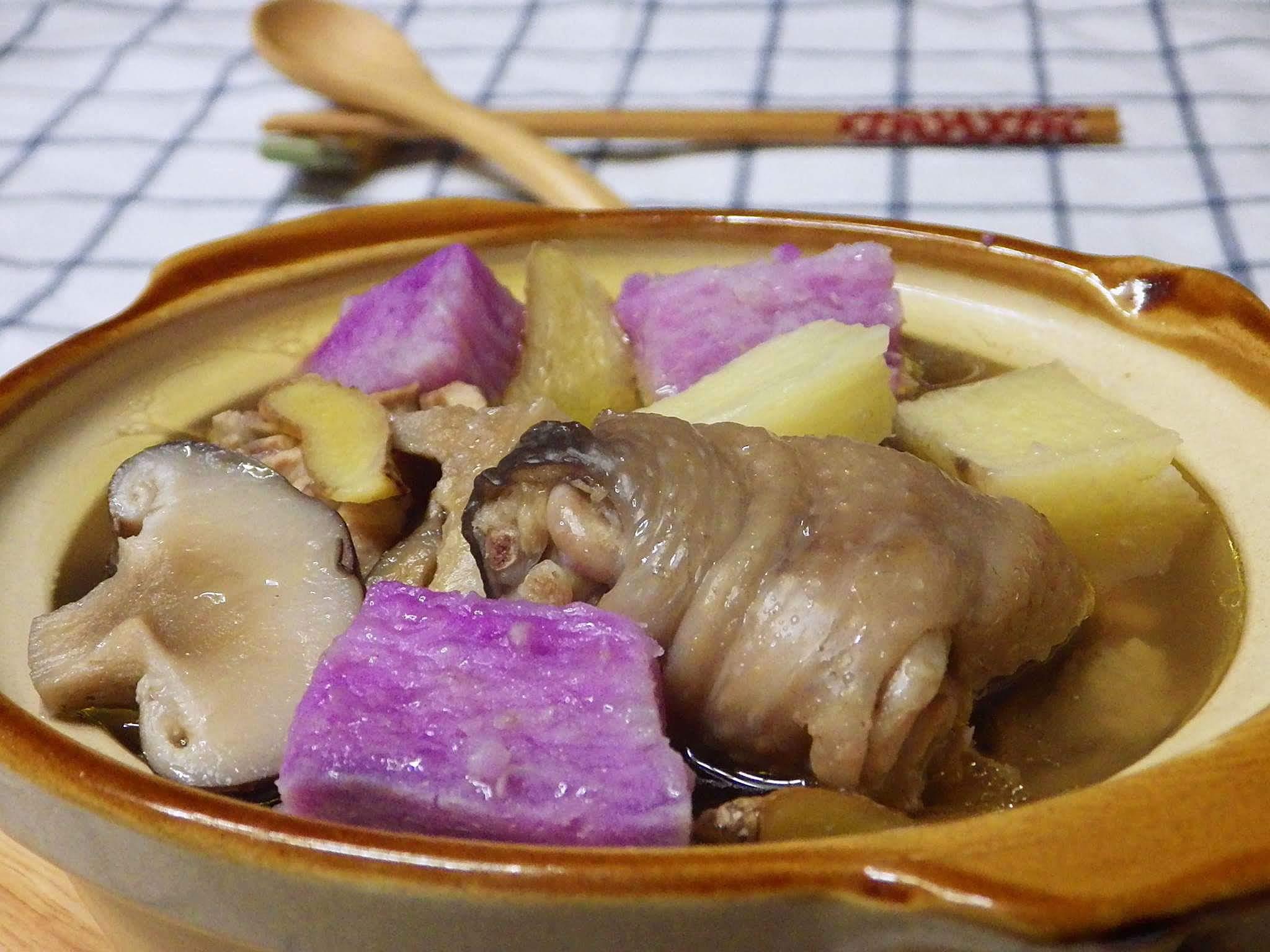 竹薑山藥香菇雞湯