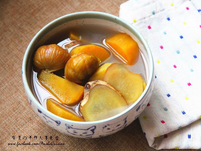 栗子地瓜甜湯