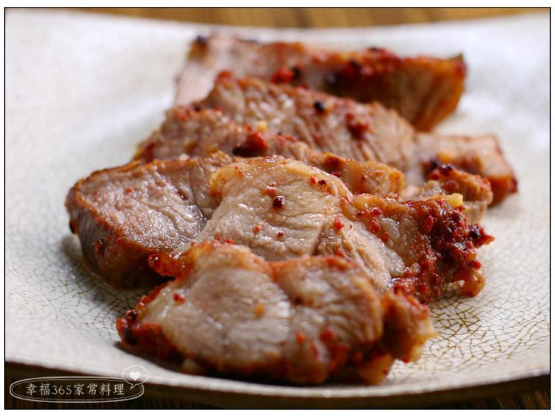 紅糟肉(烤箱版)