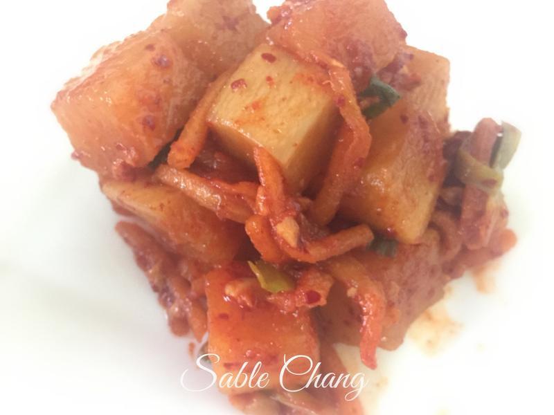 時令料理❤️韓式辣蘿蔔