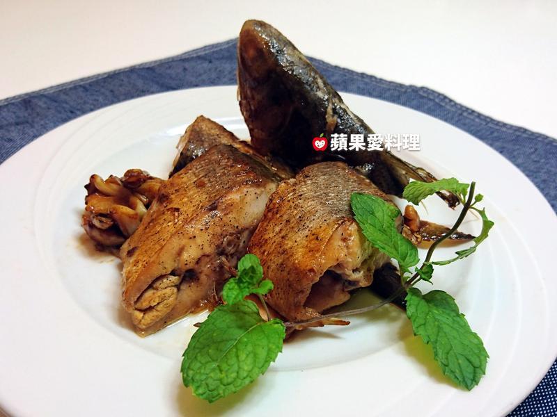 古早味醬燒魚(無糖少鹽少油。10分鐘)