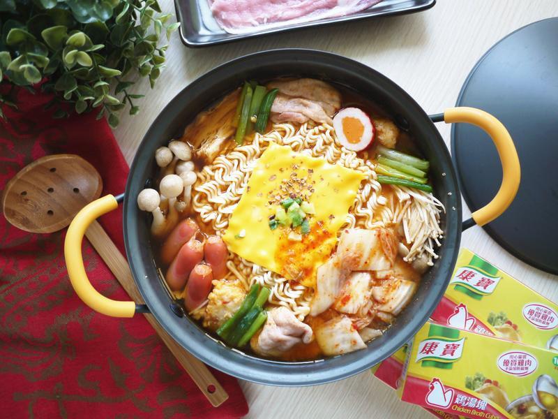韓式泡菜起司鍋【康寶湯塊】