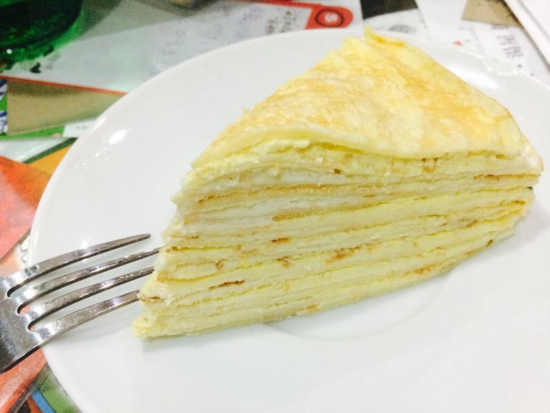 百香千層蛋糕