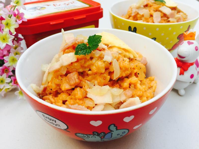 韓式起士燉飯