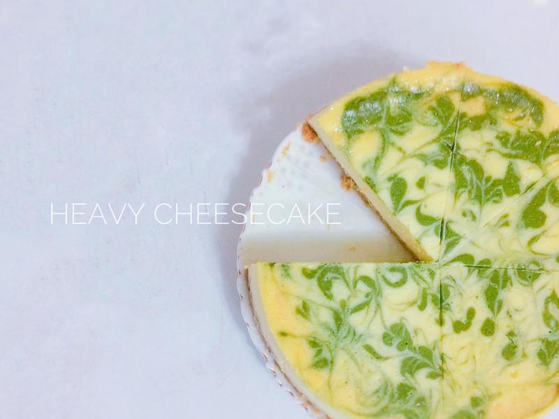 抹茶重乳酪蛋糕 (8吋蛋糕分離模)