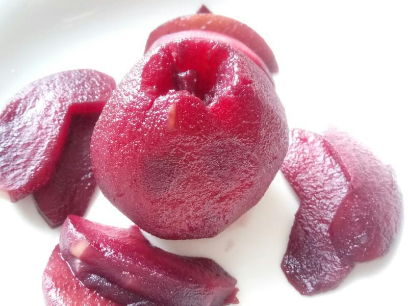 ❤甜點料理❤零廚藝法式風情紅酒燉梨