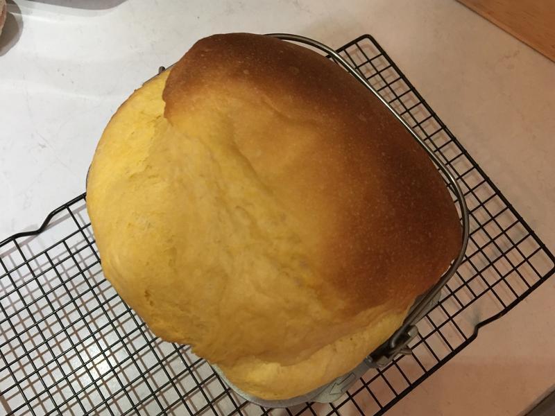 紅番薯奶香麵包🍞-麵包機版
