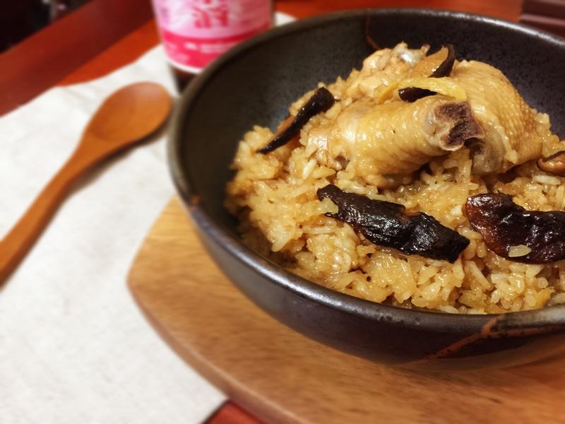 麻油雞米糕(全米酒版)