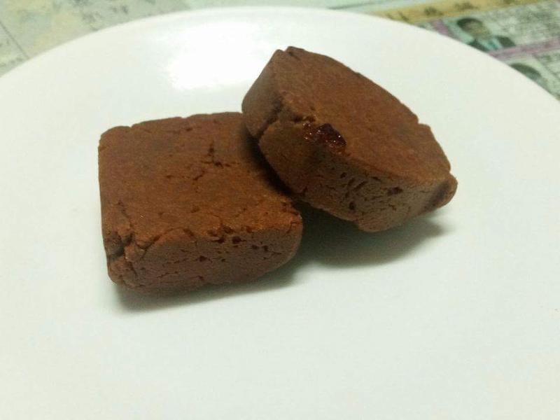 會爆漿的巧克力藍莓酥