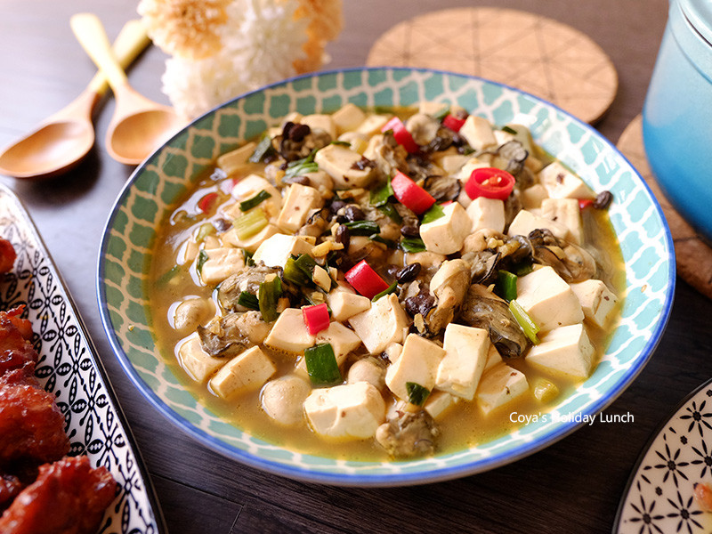 嫩豆腐鮮蚵(豆豉蚵仔)