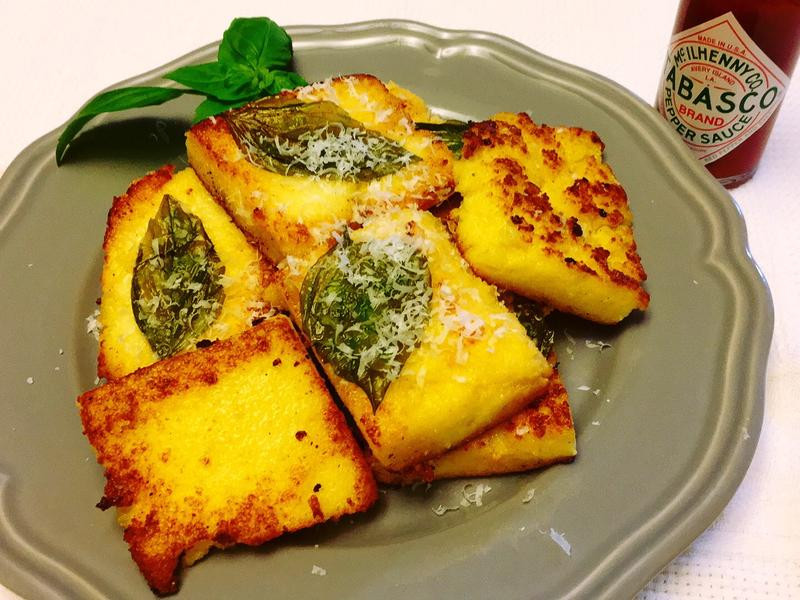 polenta 香煎玉米糕