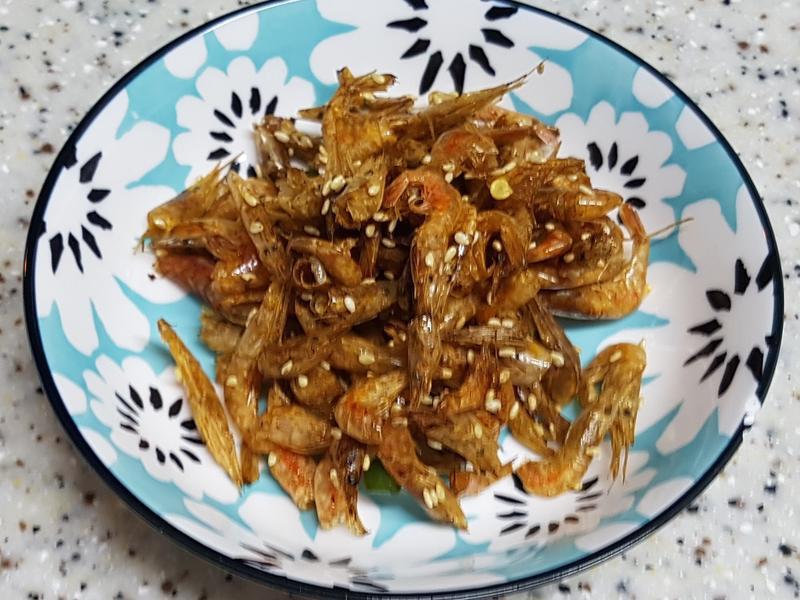 (韓式)炒小蝦米 새우볶음