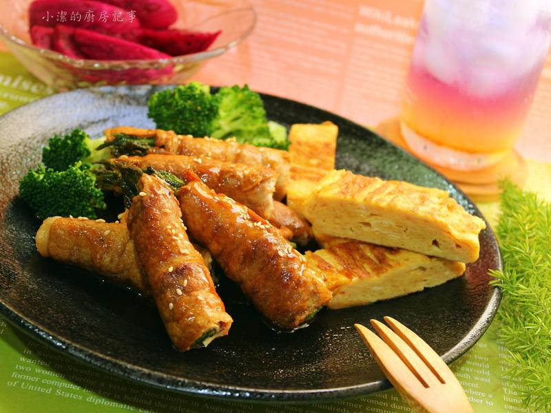 醬燒蘆筍豬肉捲