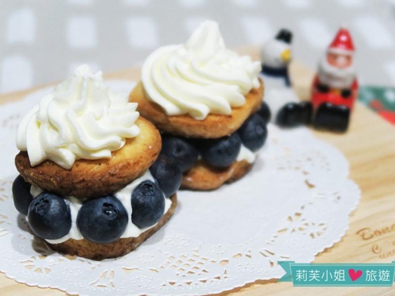 手工檸檬餅乾及藍莓檸檬奶油餅乾