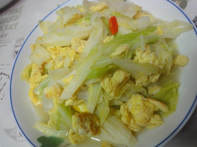 echo~蛋炒高麗菜