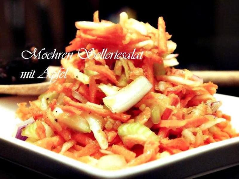 胡蘿蔔蘋果芹菜沙拉