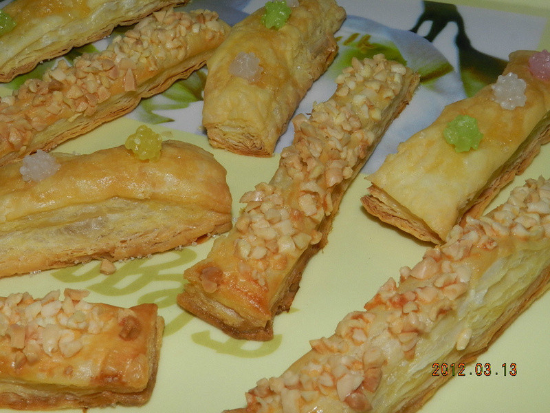 ㄚ曼達的廚房~杏仁酥