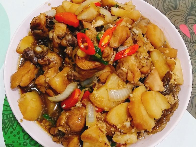 韓式料理-安東燉雞(안동찜닭)