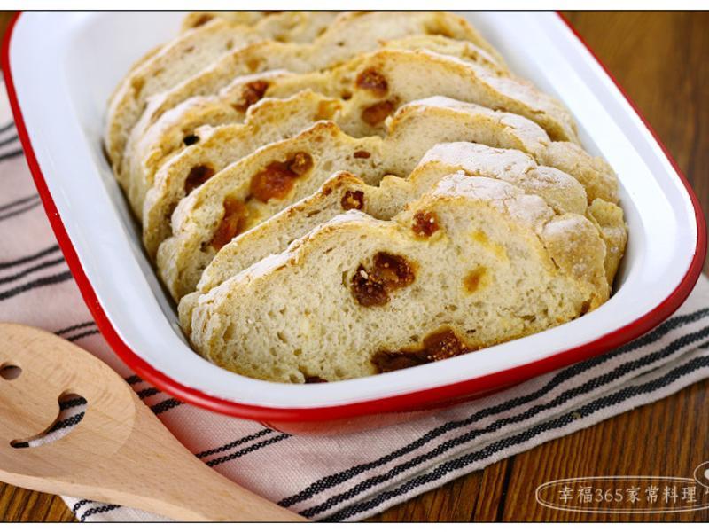 免揉果乾麵包(好塑形版)