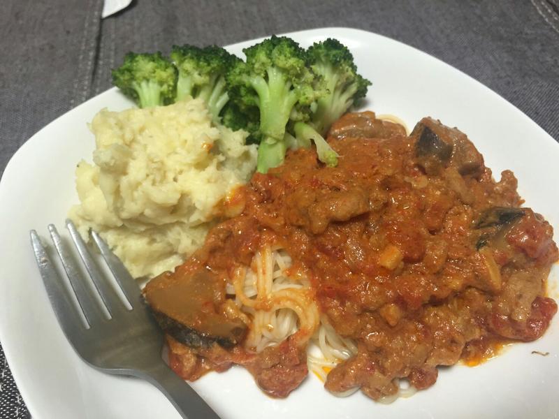 ❤平底鍋料理❤濃濃番茄香超好味肉醬義麵