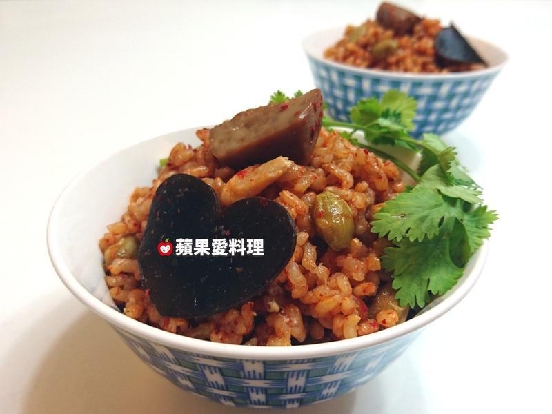 杏鮑菇昆布炊飯(電鍋)