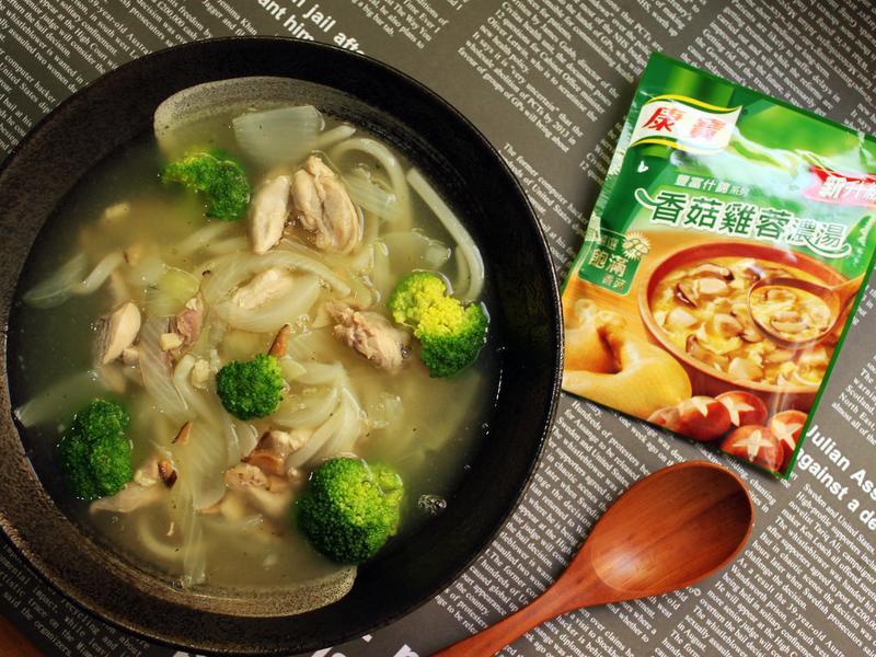 香菇嫩雞烏龍麵