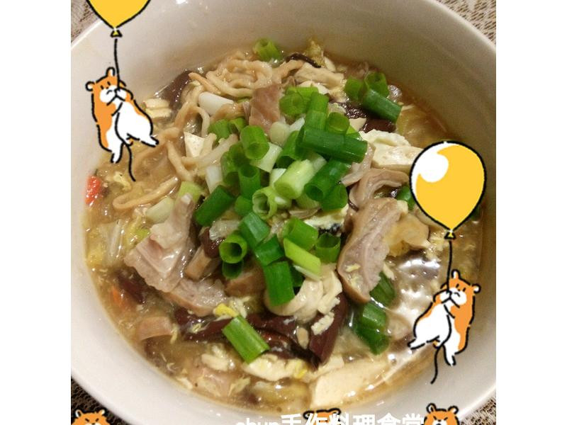 肥腸酸辣鍋燒麵