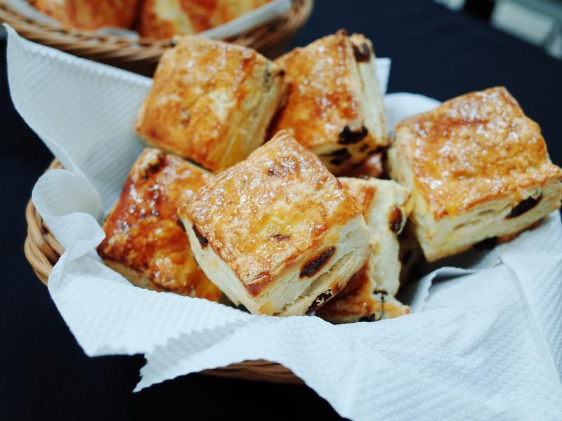 奶油乳酪葡萄司康