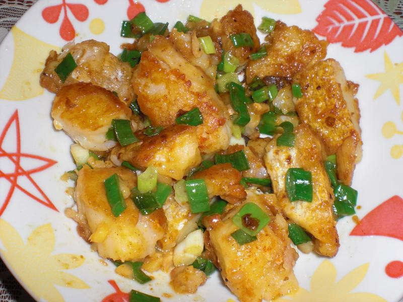 桔醬炒魚片