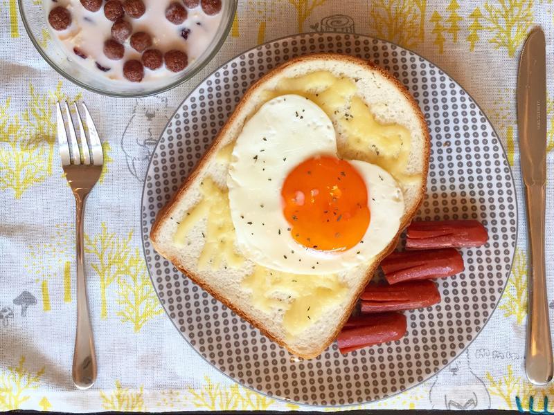 早餐 三明治 | 咬咬女士 吐司