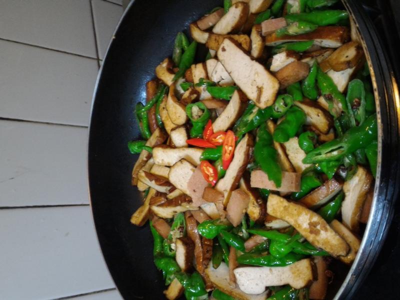 麻香青龍炒豆干
